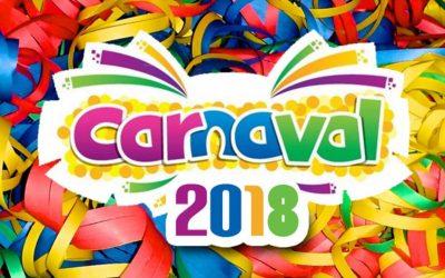 Programma Carnaval 2018